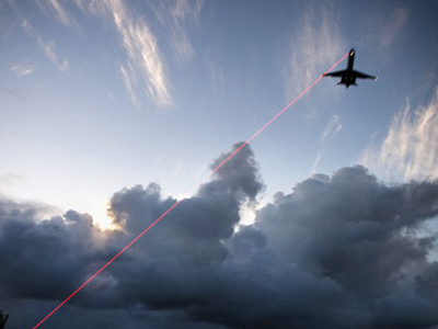 High-tech hooliganism: blinding lasers a growing threat to pilots