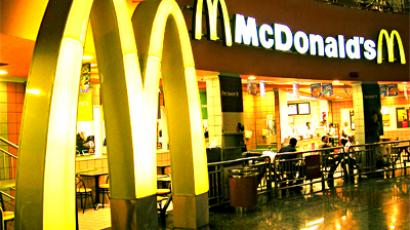 McDonald's goes big in Russia