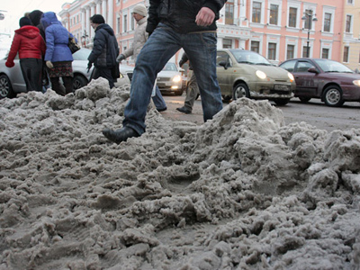 Anti-snow chemicals used in Moscow take 1.3bn years to dissolve – report