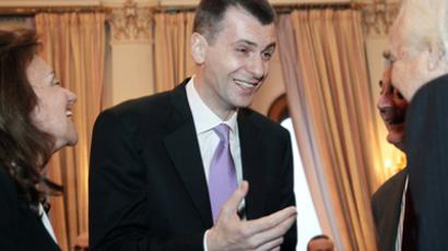 Mikhail Prokhorov's would-be party lacks public awareness