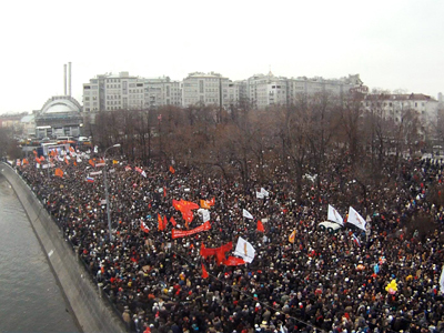 'For fair elections': Tens of thousands at Moscow biggest protest (VIDEO, PHOTOS)