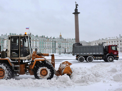 Blizzard replaces freezing rain in Moscow