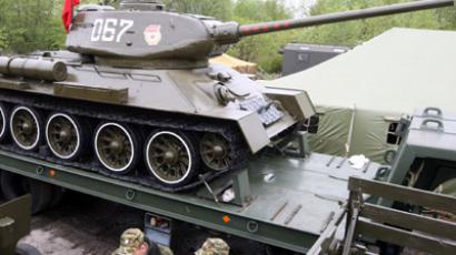 Open-air museum displays pride of Soviet military production