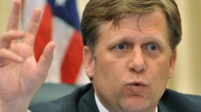 McFaul receives Russian rights activists at first meeting as US ambassador
