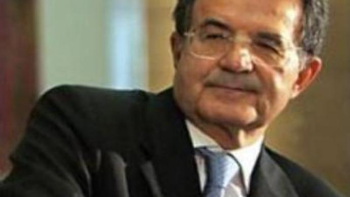 Prodi addresses Italian Senate