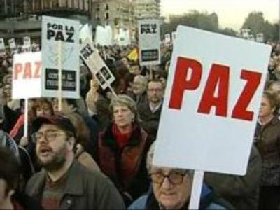 Protest against ETA terror held in Spain and Ecuador