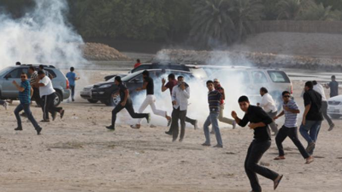 Bahraini protesters clash with police after rally ban