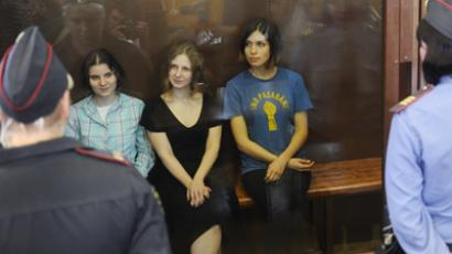 Presidential rights council questions Pussy Riot sentence