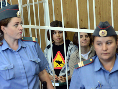 Inside Pussy Riot trial: Tweeting, doodling and depression (Op-Ed)