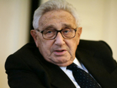 Putin improved Russia-U.S. relations: Henry Kissinger
