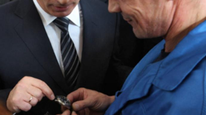 Putin runs out of timepieces at weapons factory