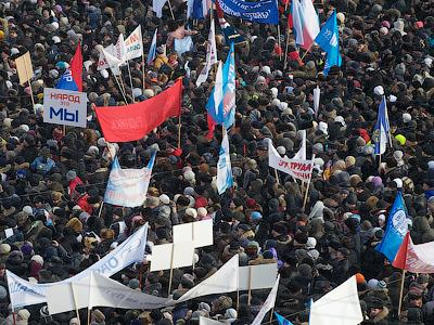 Off and running! Kremlin contenders hit airwaves