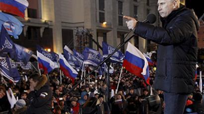 RT recalls 2012: Putin's back, opposition turmoil, Pussy Riot prank