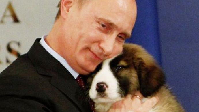 Putin seeks citizens' help in choosing puppy's name