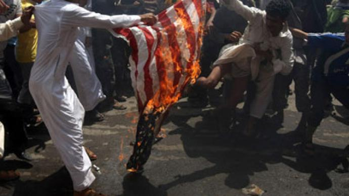Al-Qaeda leader calls for more anti-US protests