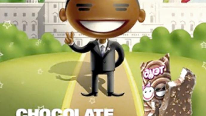 Racist ice cream? Scandal over Obama ad