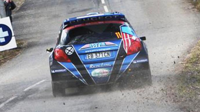 Flag drops on Rally Masters Show in Moscow