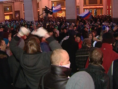 Medvedev: Protests a manifestation of democracy