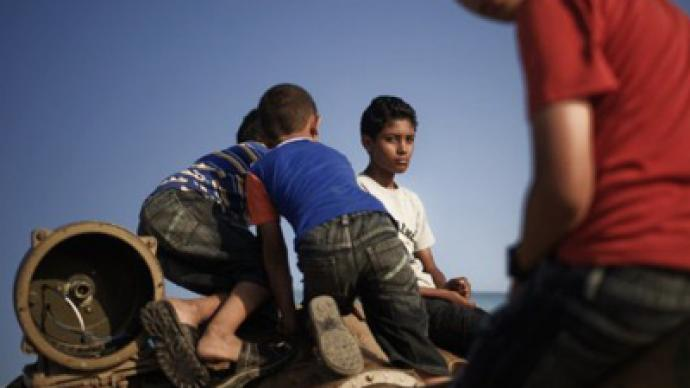 """""""Rebels"""" are power-hungry terrorists, say Libyan refugees"""