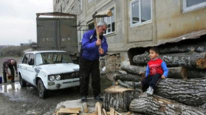 Risks of going to school in South Ossetia
