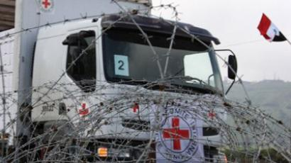 Red Cross blocked in Homs amid atrocity crossfire