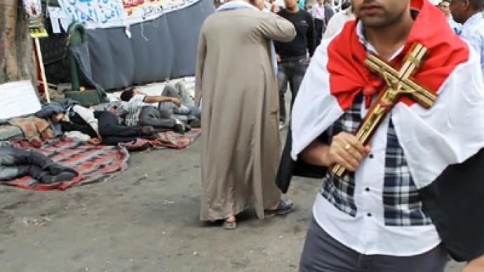Religious strife menaces Egyptian nationhood