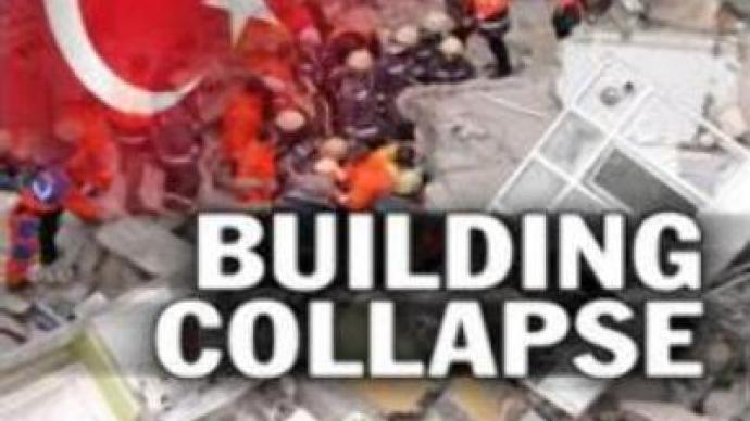 1 rescued after apartment block collapse in Istanbul