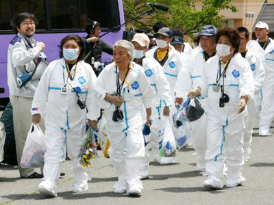 Radiation level extremely high in Fukushima