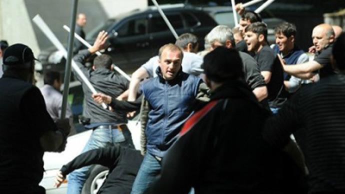 """Revolution has started in Georgia"" – opposition leader"