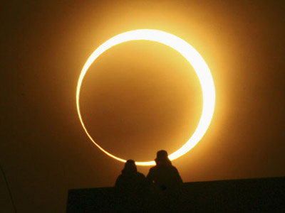 Ring of fire: Rare eclipse sparks craze