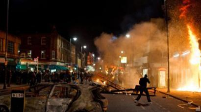 UK Anarchy: London riots enter Day 3 (PHOTO, VIDEO)
