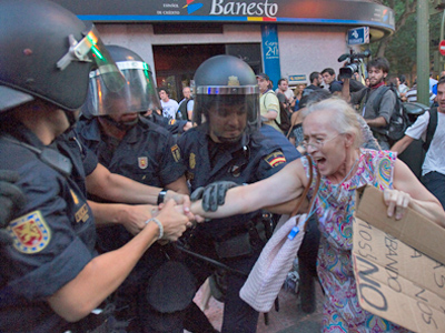 Spanish rallies turn violent as million people protest in 80 cities (VIDEO, PHOTOS)