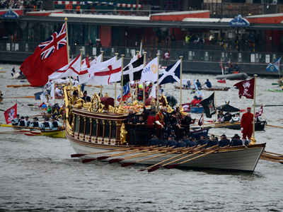 Costly affair: UK marks Queen's diamond jubilee amid crisis