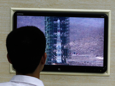 'Provocative' North Korean rocket fails shortly after launch