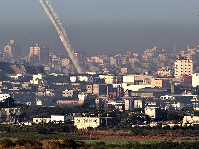 Iron Dome battery in Tel Aviv intercepts rocket hours after deployment