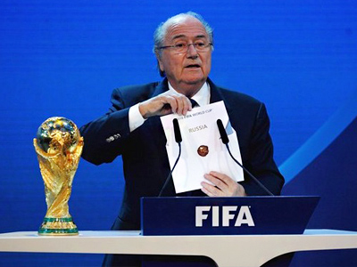 Russian World Cup 2018 bid inspires FIFA