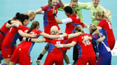 France deny Russia fourth consecutive handball crown