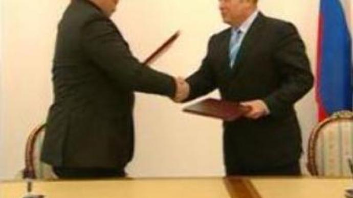 Russia and Latvia sign border treaty