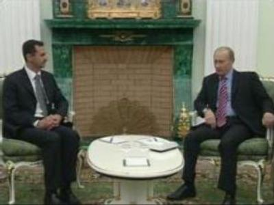 Russia and Syria discuss Middle East peace process