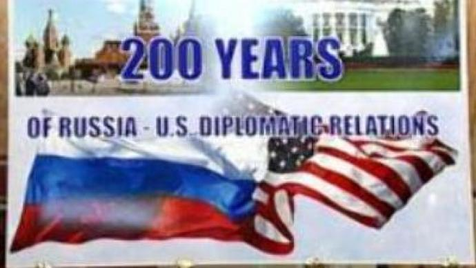 Russia and U.S. mark 200 years of co-operation