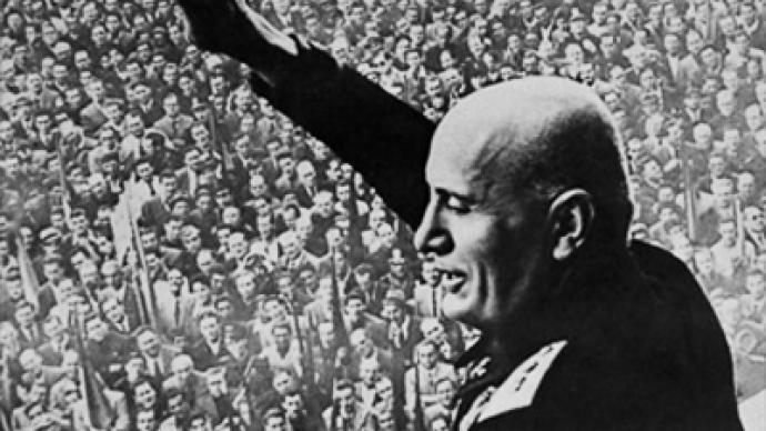 Russia bans Mussolini