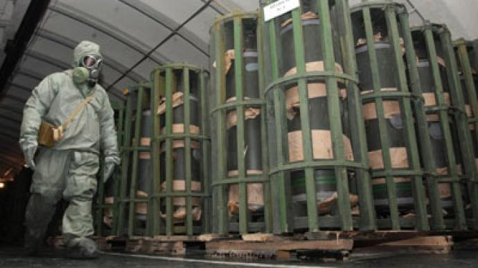 Russian chemical weapons stockpile expiry: January 2013 ...