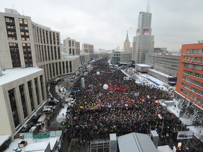 Moscow approves 50,000-strong opposition rally