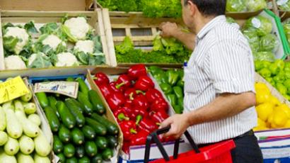 Russia allows some European vegetables into market