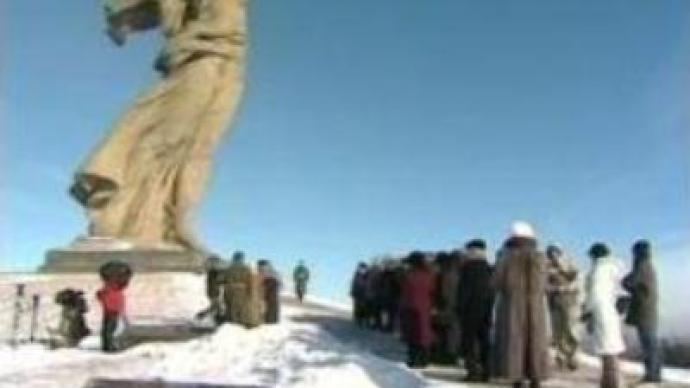 Russia marks 64th anniversary of the battle of Stalingrad