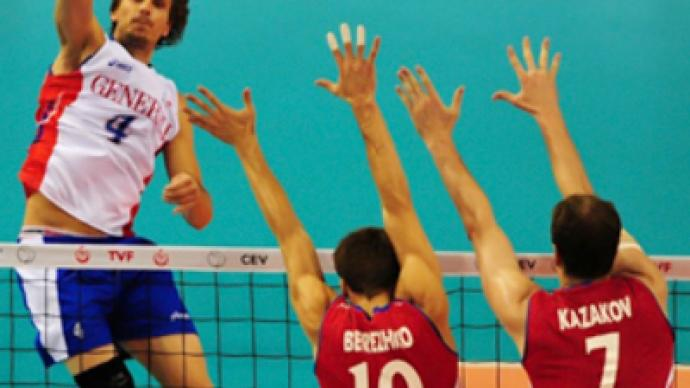 Russia miss out on European volleyball finals