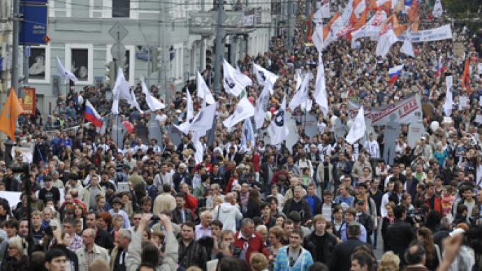 Russian opposition rallies: LIVE updates
