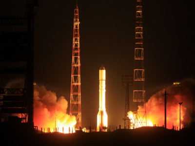 Russian Proton-M rocket crashes, erupts in ball of fire (PHOTOS, VIDEO)