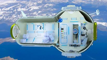 Space hotel promises 60-million-dollar views