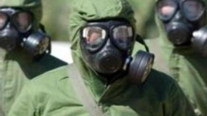 Russia to get rid of chemical weapons by 2012